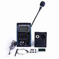 NEW Tone And Volume Control Acoustic EQ Equalizer System Guitar Preamp Piezo LCD Pickup Amplifier Tuner