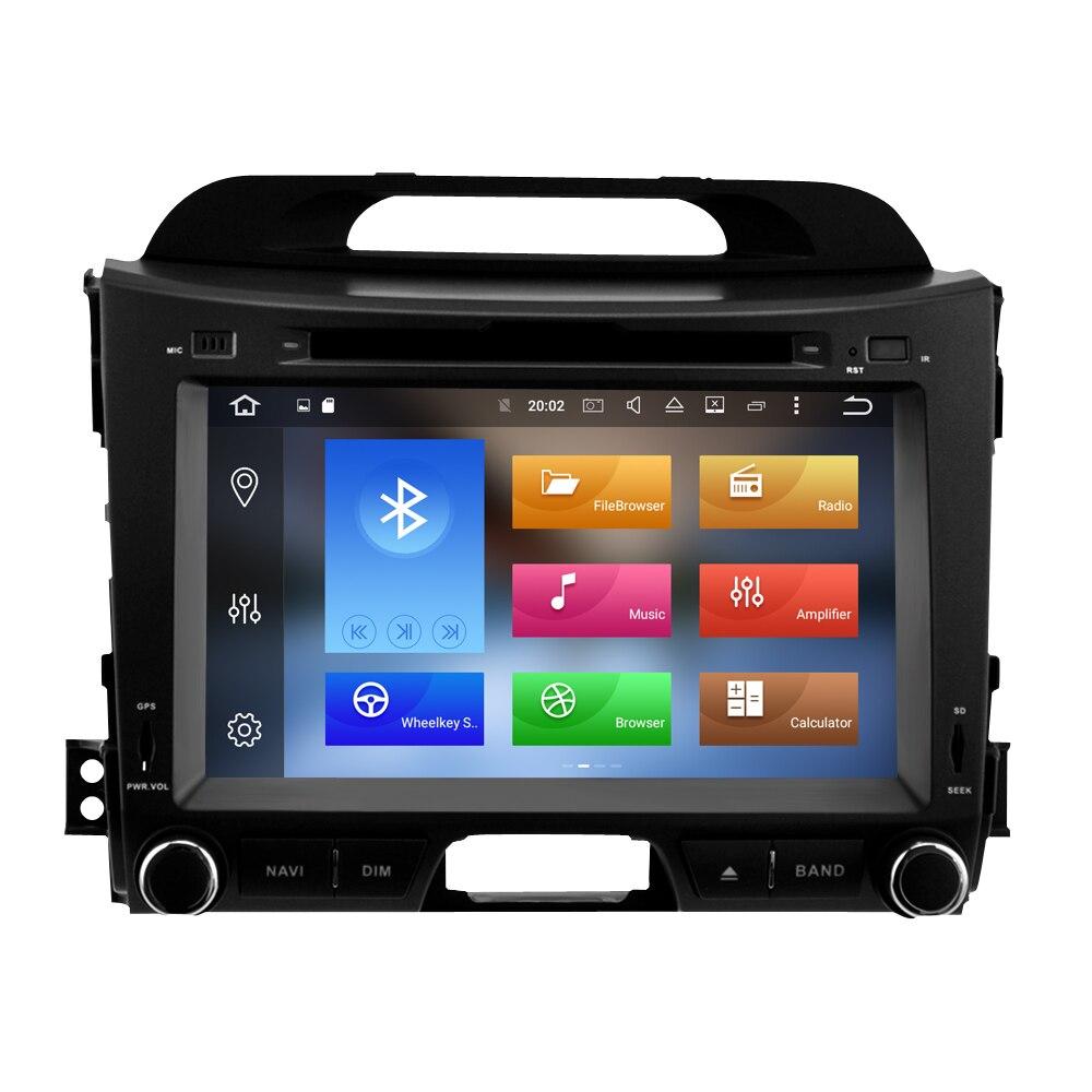 Image 2 - 4G ram ips экран Android 9,0 автомобильный стерео для Kia Sportage 2009 2015 автомобильный DVD плеер Автомобильный FM Мультимедиа вайфай gps навигация-in Мультимедиаплеер для авто from Автомобили и мотоциклы