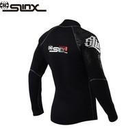 SLINX 5mm Neoprene Dive Jacket Wetsuit For Women Men Surfing Windsurfing Swimwear Waterski Water Craft Boating Wet Suit