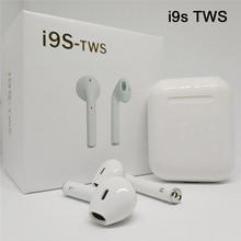 i9s tws Bluetooth Earphone Wireless Headset In-ear Headphones Handsfree Portable Earbuds Auto Pair PK i10 i11 i12