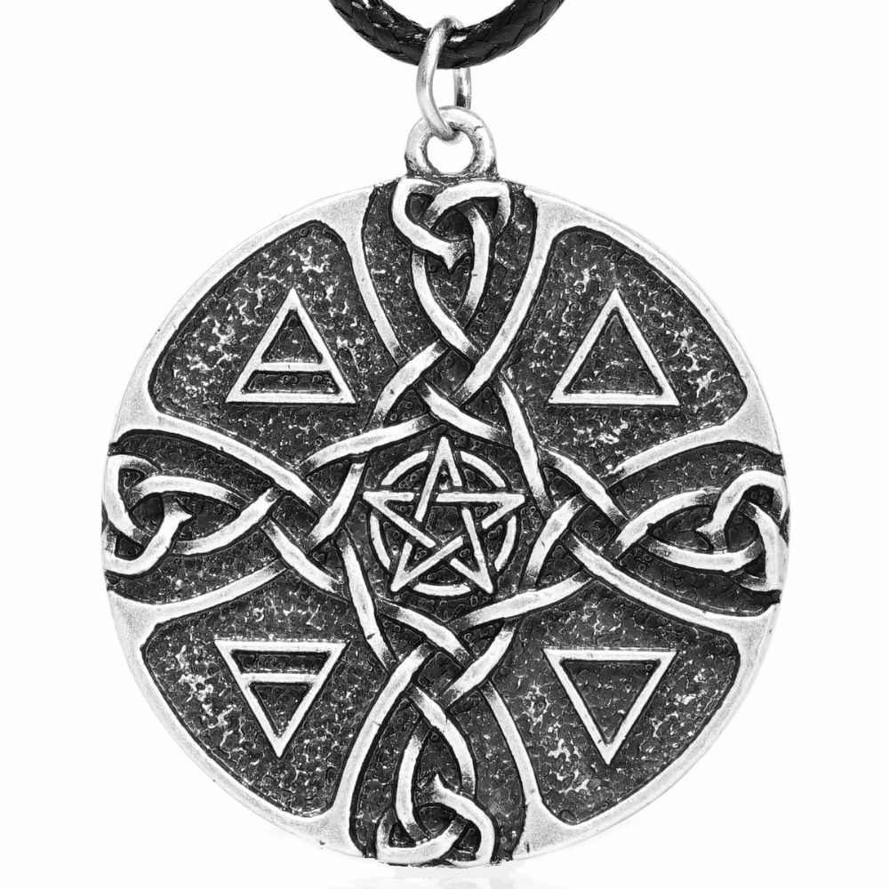 Four Elements Astrology Jewelry Hindu Wiccan Symbology Greek Symbology Buddist Earth Air Fire Water Occult Jewelry Elements Necklace
