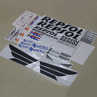 Motorcycle Fairing Kit Decals Sticker For HONDA REPSOL RCV CBR 600 1000 RR VTR HRC Complete Stickers Decal Accessory
