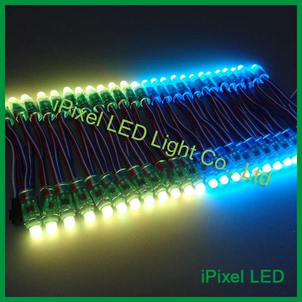 2016 Christmas big sale!arduino/sd card control 12mm SM16716/LPD6803 pixel rgb led dot matrix light