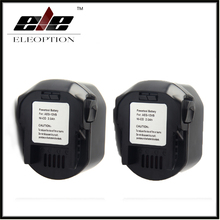 2x AEG 12VB Power Tool Battery 12V 2000mAh 2 0 Ah Ni CD For B1214G B1215R