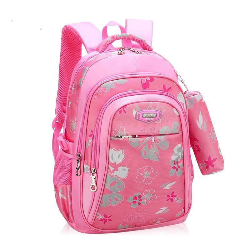 children school bags For Girls printing Backpack kids orthopedic backpack Children Schoolbags primary School Book Bag sac enfant