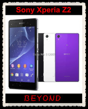"Sony Xperia Z2 Original Unlocked GSM 3G&4G Android Quad-Core 3GB RAM D6503 5.2"" 20.7MP WIFI GPS 16GB Dropshipping"