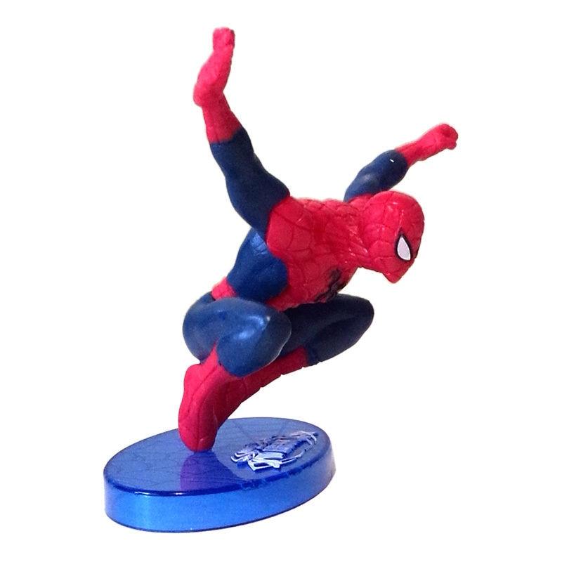 Spiderman Action Figure Kid Boy Display Figurines Set Cake Topper