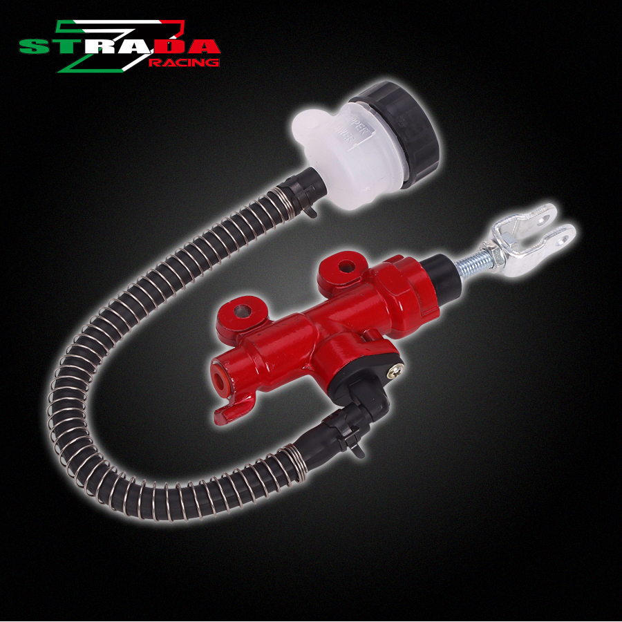 Rear Brake Pump Master Cylinder For HONDA CBR250 CB400 VTEC CB-1 CBR400 VFR400 VT250 Motorcycle Accessories High quality  free shipping 7 8 22mm clutch lever brake pump master cylinder for honda nsr250 cb250 honret cbr250 400 cb400 cb 1 vfr400 cb750