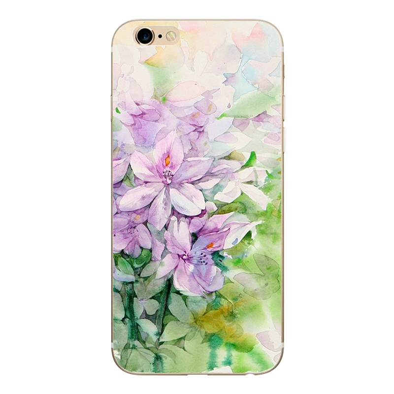GLSHST Cool summer series For iPhone 7 Case Silicone Painted Cartoon Mobile Phone Cover Shell TPU Protective Fundas For iPhone 7 (4)