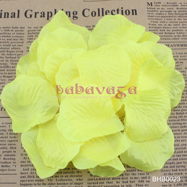 artificial silk rose petals for wedding favor party decoration store decoration - Party Decoration Stores