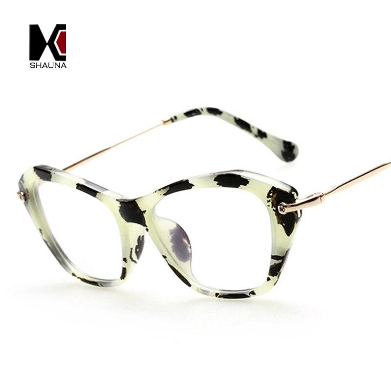 Vintage Cat Eye Glasses Blue Clear