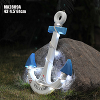 Special offer Mediterranean style new LED anchor Home Furnishing wall pendant jewelry gift MA2809/10