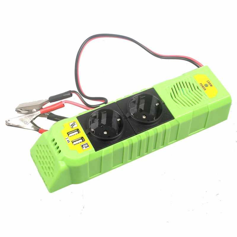 DC 12V Peak Power 300W Car Inverter 12V 220V 50Hz CE ROHS EMC Certification Universal Socket Auto Vehicle Power Inverter