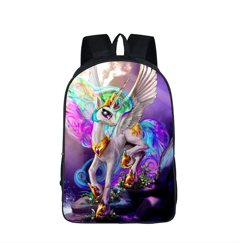 Cartoon Unicorn Backpacks Children Book Bag Pony Toddler Backpack Kawaii Horse School Bags for Girls Boys Kids Schoolbag Bagpack spain backpack kids children foot ball star backpacks for boys school bagpack girls youth rucksack student mochila bags