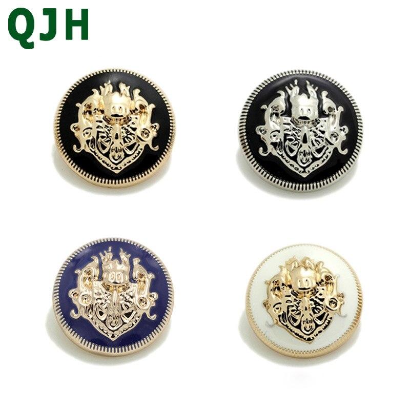10 piezas QJH costura accesorios de alta calidad chaqueta de ropa ...