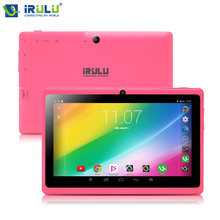"IRULU 7 ""Tablet Android 6.0 GMS Certificación eXpro X3 1G RAM 16G ROM Tablet PC Cámaras Duales Bluetooth 1024*600 TFT LCD de Pantalla"