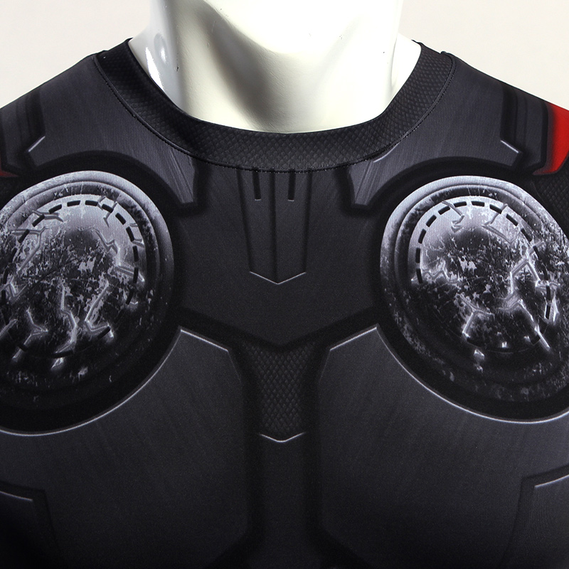 Thor 3D Compression T shirt 2