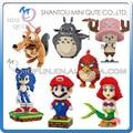 Mini Qute Belody huge cartoon game anime red bird super mario mermaid building blocks brick action figures model educational toy