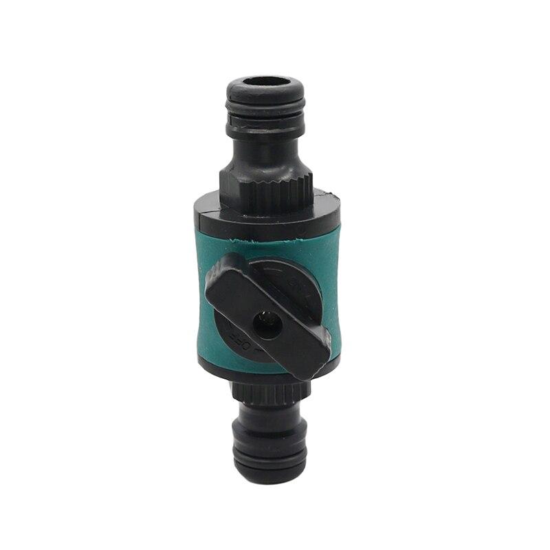 Ирригационный клапан для сада с быстроразъемным разъемом 16 мм, продлевает длину шланга, фитинги для полива, садовый трубчатый клапан, 1 шт.|garden valve|garden hose fittingshose pipe fitting | АлиЭкспресс