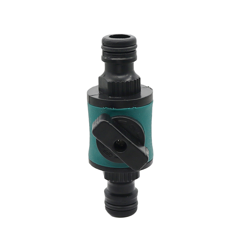 Garden Irrigation Valve With 16 Mm Quick Connector Prolong Hose Length  Pipe Fittings Watering Garden Tube Valve 1 Pc