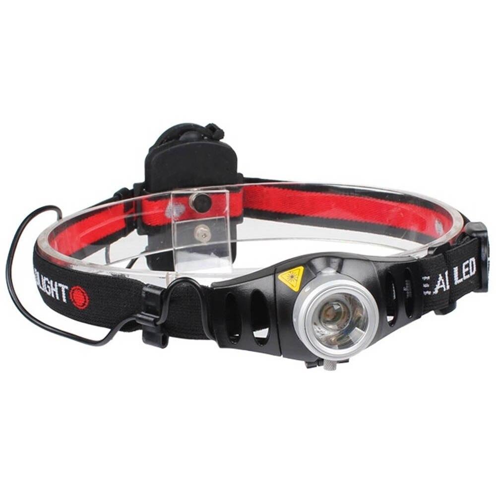 RED LED Headlamp USB Rechargeable SALE! 500 Lumens Waterproof Lamp UV LED