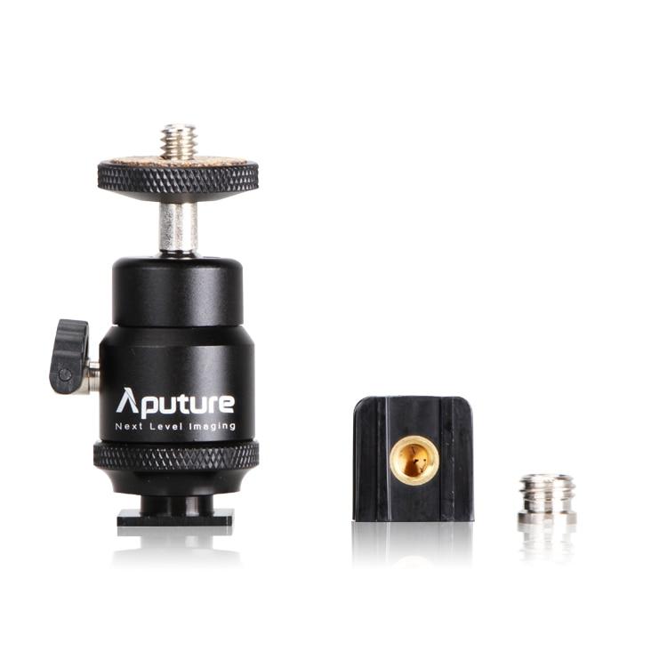 Aputure Amaran CRI 95+ אל-H198C אור LED וידאו המנורה 5500K / 3200K Dimmable עבור Canon Nikon Pentax DSLR מצלמה וידאו מצלמת וידאו