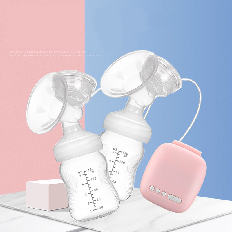 Automatic Free Electric Double Breast Pumps Manual Breast Pump Nipple Suction Breast Baby Feeding Pump Powerful Milk Sucker Automatic Free Electric Double Breast Pumps Manual Breast Pump Nipple Suction Breast Baby Feeding Pump Powerful Milk Sucker