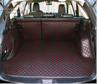 High Quality Special Trunk Mats For Subaru Outback 2015 Easy To Clean Waterproof Boot Carpets For
