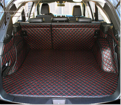 High quality! Special trunk mats for Subaru Outback 2017 waterproof cargo liner boot carpets for Outback 2016-2015,Free shipping