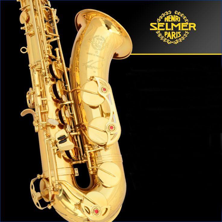 цена  Brand New France Selmer Tenor Saxophone R54 Professional B Gold Sax mouthpiece With Case and Accessories  онлайн в 2017 году
