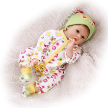 Cute Baby Boy Dolls For Boys 22 Inches 55 cm Reborn Baby Dolls For Kids Accompany Partner Lifelike Silicone Reborn Babies Online