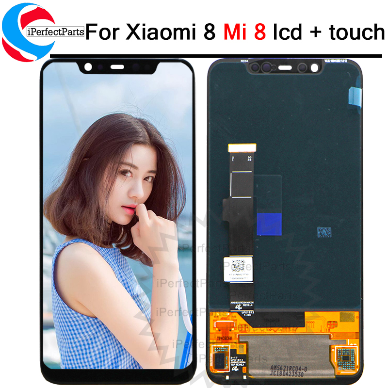 6 21 For Xiaomi Mi8 Explorer LCD Display Digitizer Touch Screen Replacement For Xiaomi 8 LCD
