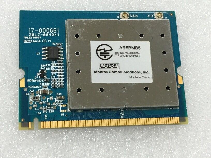 SSEA Nouvelle Carte Réseau pour Atheros AR2413A AR5005G AR5BMB5 Mini PCI Wifi Carte Sans Fil 802.11 b/g 54 Mbps