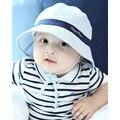 Baby Boy Лето Hat Малышей Младенческой Вс Крышка Летний Открытый Девочка Шляпы Вс Шляпу Ведра-Бич