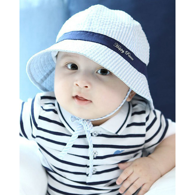 fe8bd6728da Baby Boy Summer Hat Toddler Infant Sun Cap Summer Outdoor Baby Girl Hats  Sun Beach Bucket Hat