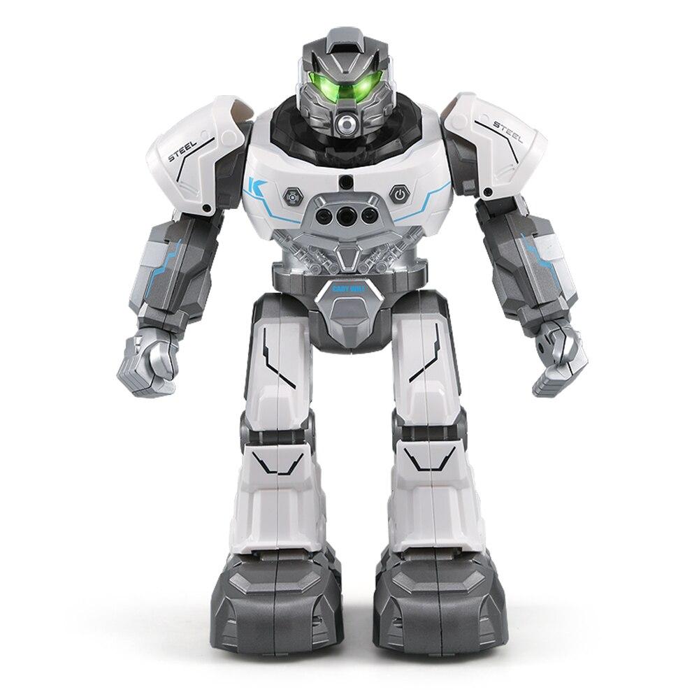 JJR/C JJRC R5 CADY WILI SmartWatch Intelligent Programmation L'éducation robot rc Auto Suivre Geste Contrôle jouets pour enfants Bleu Blanc