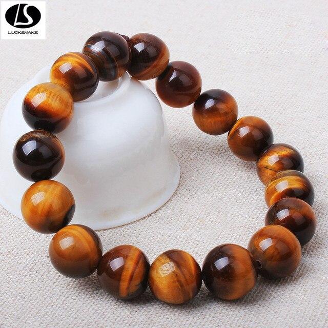 Природный кристалл браслет Тигровый Глаз выбор подлинных Бразильские производители оптовая человек бусины y1008