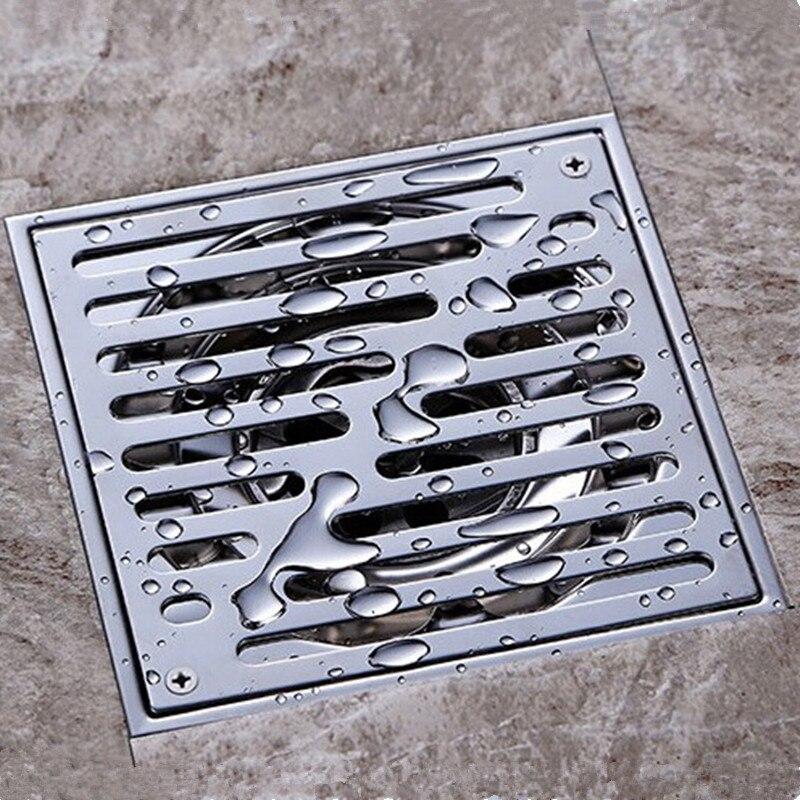 stainless steel anti odor floor drain bathroom kitchen shower drain - Kitchen Sinks Price