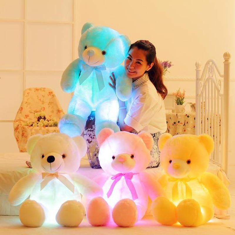 glowing teddy bear toy for kids