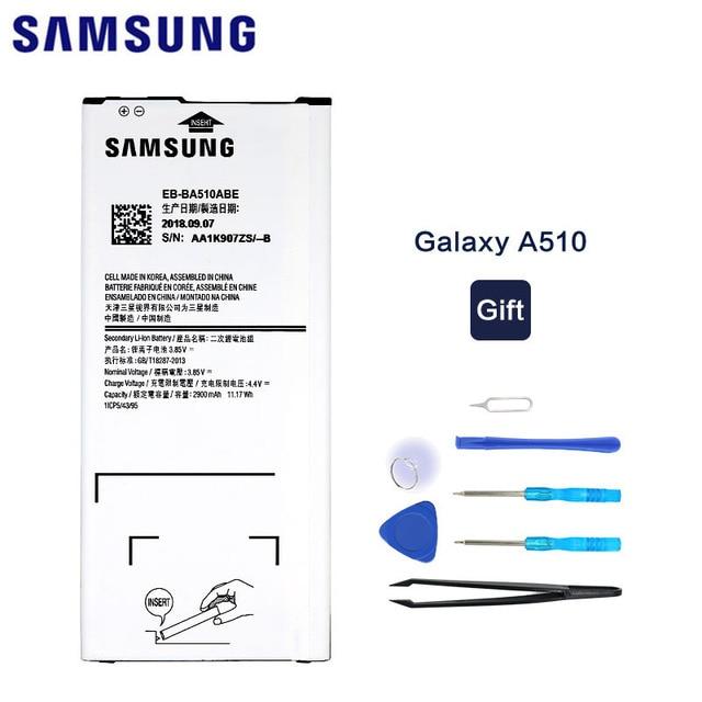 Orijinal Samsung A510 Pil Için Samsung Galaxy A5 2016 A510 A510F A5100 A510M A510FD A510K A510S EB-BA510ABE 2900 mAh