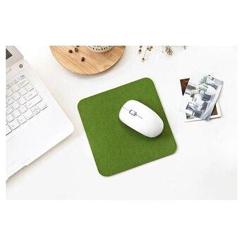 Alfombrilla de fieltro para ratón de 200x200mm alfombrilla de ratón para ordenador...