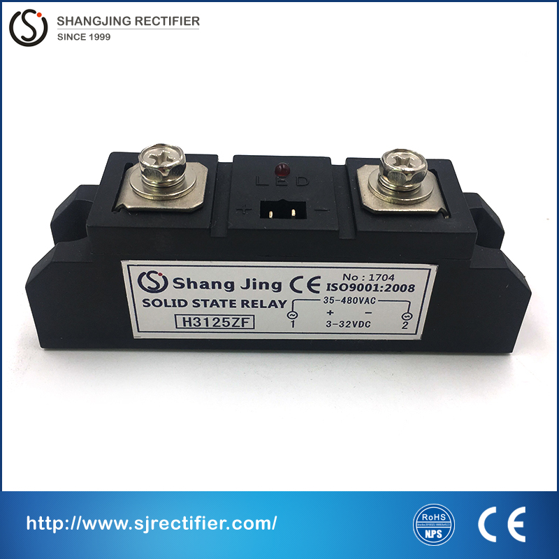 2017 new style industry solid state relay SSR high current rate 125A single pahse input 3~32VDC output 35~480VAC free shipping new and original sa34080d sa3 4080d gold solid state relay ssr 480vac 80a