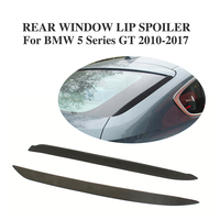 Schwarz Hinten Fenster Fin Spoiler Für BMW 5 Serie GT F07 535i 4 Tür 2010 2017 PU Unpainted Spoiler & Flügel Kraftfahrzeuge und Motorräder -
