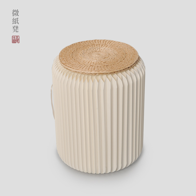Round stool Shoes footstool Simple living room Home Furnishing Creative leisure environmental protection