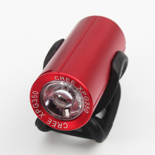 XPG 350 Lumens Bicycle Light USB Charging Bike Front Light LED 1200mAh Battery Cycling Lamp Mountain Red Bike Frame Flashlight
