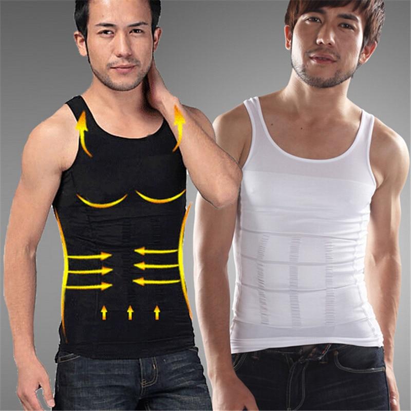 Men Waist Cincher Slimming Shapewear Vest
