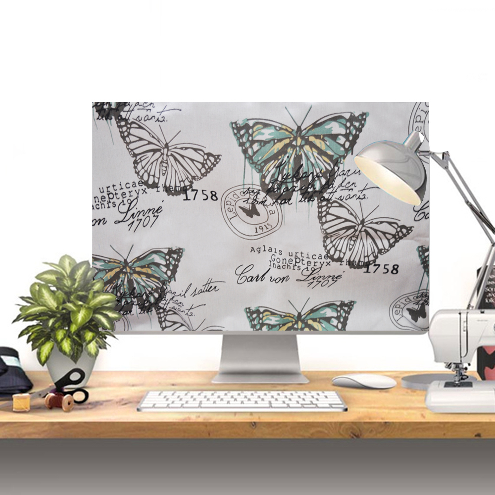 NEW!! HANDMADE 100%  special computer Dust cover +  for imac 27 inch  Butterfly garden + free shipping   NEW!! HANDMADE 100%  special computer Dust cover +  for imac 27 inch  Butterfly garden + free shipping