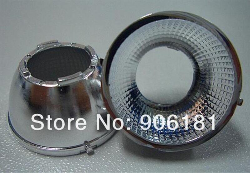 #ZPA-21 High quality COB Reflective Cup, Size:21X11.5mm, 60 degree, Clean Surface, PC Materials, Aluminum Coating