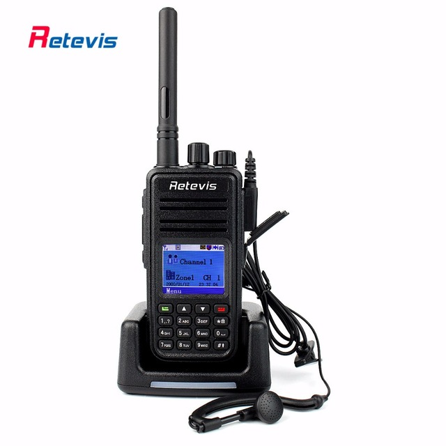 DMR Radio RT3 Walkie Talkie Digital Retevis RT3 5W 1000CH UHF OR VHF Encryption Priority Scan Portable Ham Radio Hf Transceiver