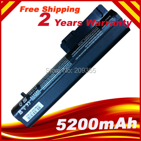 Laptop Battery For HP/ompaq 2533t EliteBook 2530p 2540p Business Notebook 2400 2510p nc2400 404887-241 411126-001 412779-001